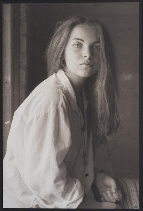 Martyna, White Shirt