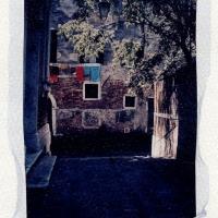 Polaroid emulsion lift Laundry Venice