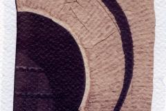 Polaroid emulsion lift Arch Marrakech