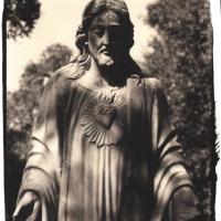 Platinum and palladium Evergreen Cemetery Jesus