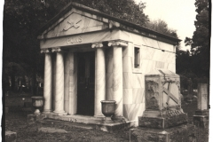 Platinum and palladium Evergreen Cemetery Pons