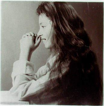 Gum bichromate Portret