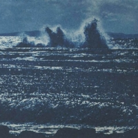 Cyanotype Breaking wave