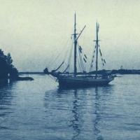 Cyanotype Helsinki harbour