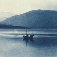 Cyanotype Swedish lake