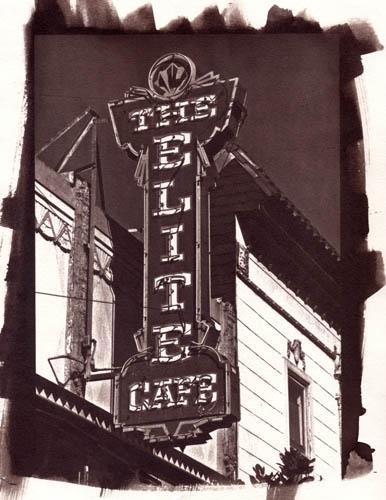 Vandyke brown Elite Cafe
