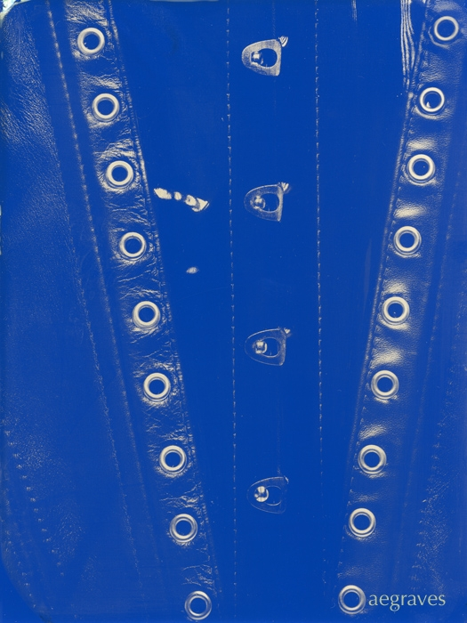 Wetplate collodion Patent Leather and Grommets