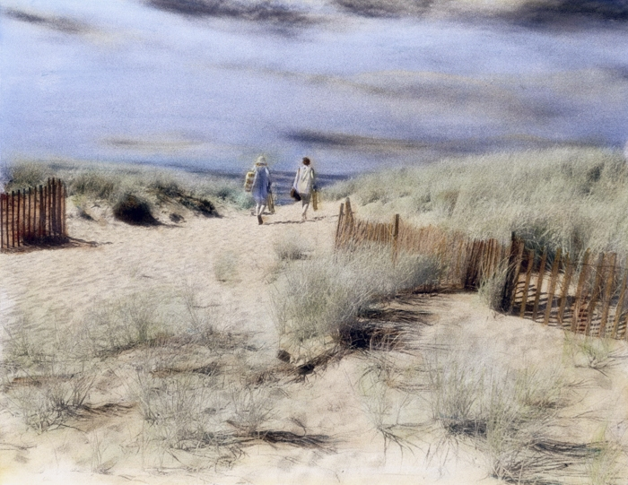Handpainted-Going-to-the-Beach