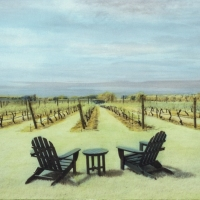Handpainted-Vineyard-In-Summer