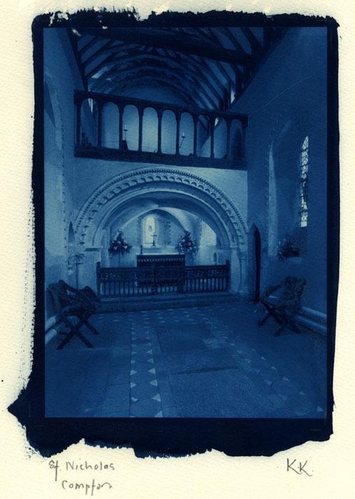 Ken-Keen-A-Medieval-Oratory-Cyanotype-Rex