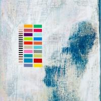 Gum bichromate on panel Color chart 6