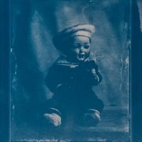 Cyanotype-Doll