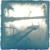 Cyanotype Long Lake