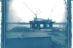 Cyanotype Oil Rig