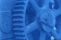Cyanotype rex Gears 3