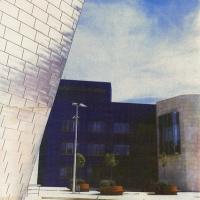 Gum bichromate Guggenheim Bilbao