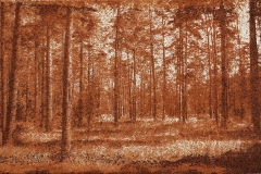 Gumoil Forest Lithuania in raw sienna