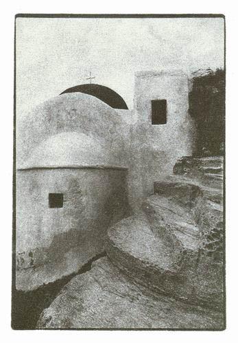 Bromoil-Paros-Convent-Aghios