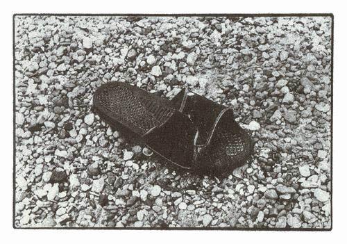 Bromoil-Washed-up-Slipper