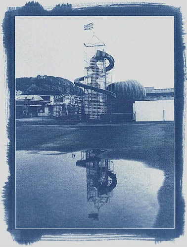 Cyanotype-Helter-Skelter