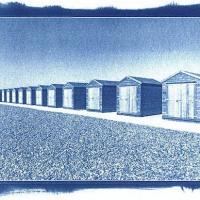 Cyanotype-Beach-Chalets