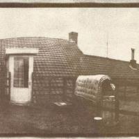 Gum-bichromate-My-Roof-Pinhole