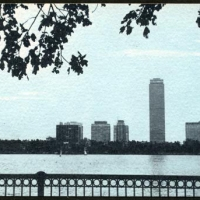 Gum bichromate Boston waterfront 1984