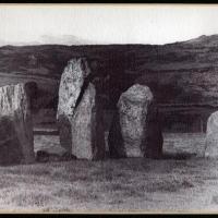 Gum bichromate Standing stones