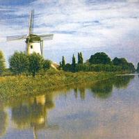 Gum bichromate Windmill
