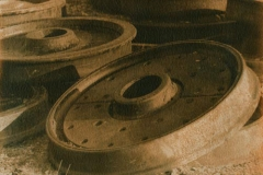 Gum and cyanotype Wheels