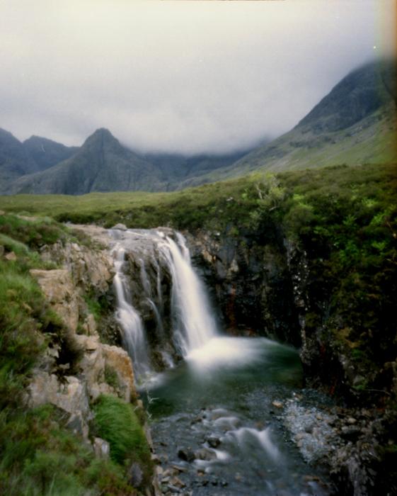 Zero Image Pinhole, Fairy Pools Skye