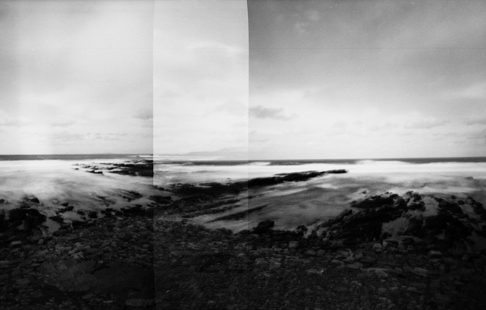 Zero Image camera pinhole,  Birsay Rocks