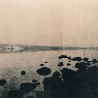 Lith print Loch Rannoch