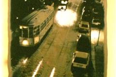 Gold process 21 Tram in Milan
