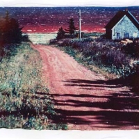 Polaroid emulsion lift prince edward island