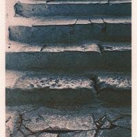 Cyanotype Stone-Stairs