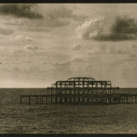 Lith print The-West-Pier