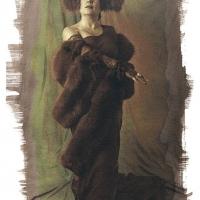 Vandyke brown Madame-Jourdain