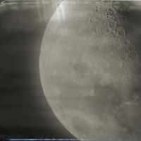 Wetplate collodion Moon