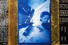 Pinhole Cyanotype Music