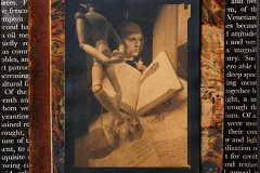Pinhole Cyanotype Tea Toned Art