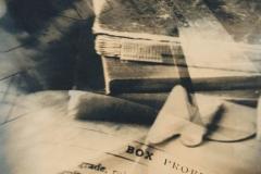 Handcoloured photograph Box problems