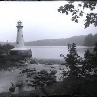 Dry plate Lighthouse