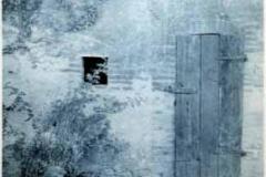 Cyanotype Italy door