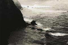 Lith print Big Sur