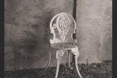 Platinum print Chair