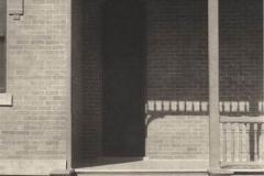 Platinum print Doorway