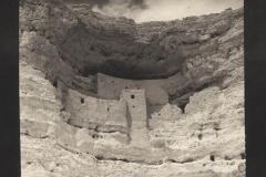 Platinum print Montesuma Castle