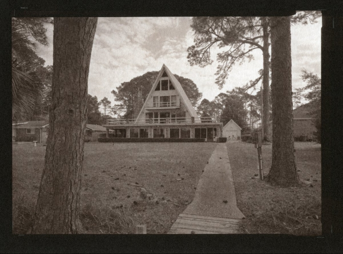 Argyrotype Dad's house