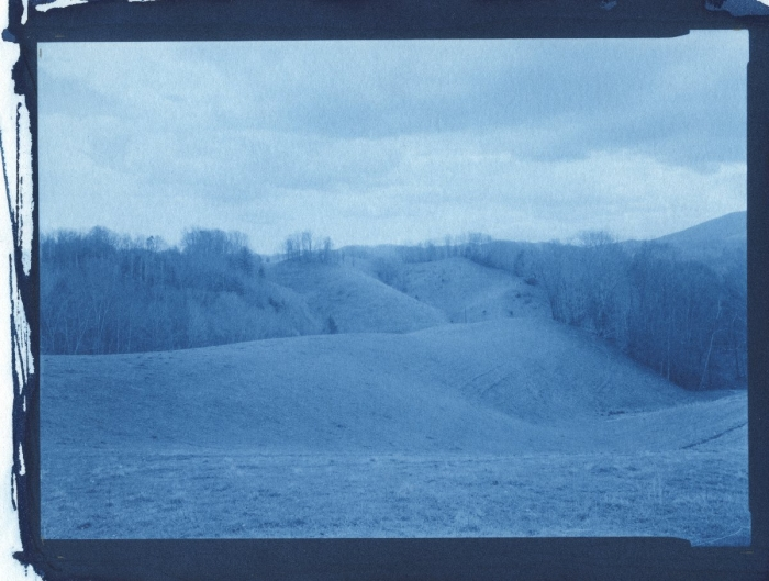 Cyanotype Blue ridge